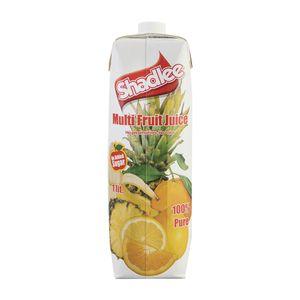 سوپر مارکت اینترنتی آب چند میوه بدون شکر 1 لیتری شادلی
