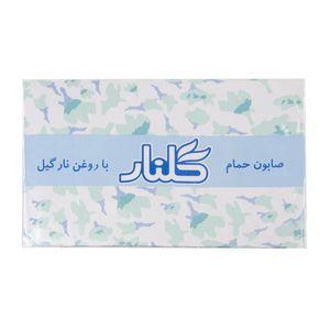 صابون سبز بسته 6 عددی 130 گرمی گلنار