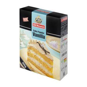 سوپر مارکت اینترنتی پودر کیک وانیلی 500 گرمی زر
