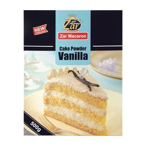 فروشگاه اینترنتی پودر کیک وانیلی 500 گرمی زر