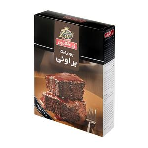 خرید اینترنتی پودر کیک براوونی 400 گرمی زر