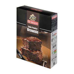 سوپر مارکت اینترنتی پودر کیک براوونی 400 گرمی زر