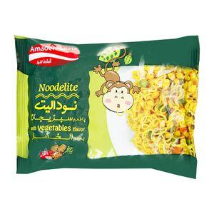 نودل سبزیجات 75 گرمی آماده لذیذ