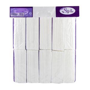 سوپر مارکت اینترنتی دستمال کاغذی سافت پک 100 برگ 2 لایه 10 عددی صپیتا