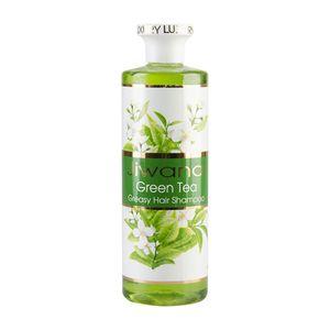 شامپو موی سر چای سبز 500 گرمی ژیوانا