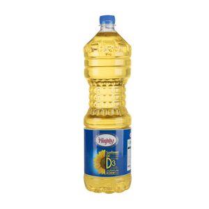 سوپر مارکت اینترنتی روغن مایع آفتابگردان با ویتامین دی1350گرمی هایلی