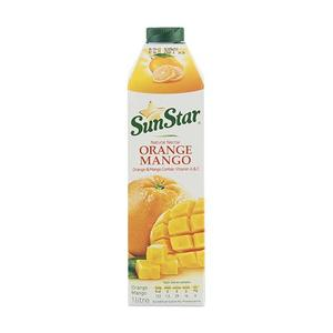 سوپر مارکت اینترنتی آبمیوه پرتقال و انبه کامبی دام یک لیتری سان استار