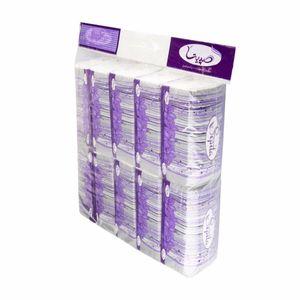 خرید اینترنتی دستمال کاغذی سافت پک 100 برگ 2 لایه 10 عددی صپیتا