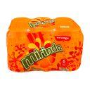 سوپر مارکت اینترنتی پک 6 عددی نوشابه  قوطی پرتقالی  330سی سی میراندا
