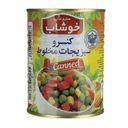 کنسرو سبزیجات کلیددار 350 گرمی خوشاب