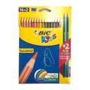 مداد رنگی تراپی کالر 2+16 رنگ بیک