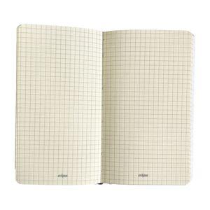 سوپر مارکت اینترنتی دفترچه یادداشت کش دار جلد چرمی رایس قرمز کلیپس