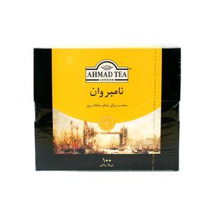 خرید اینترنتی چای تی بگ نامبروان پاکتدار 100 عددی احمد