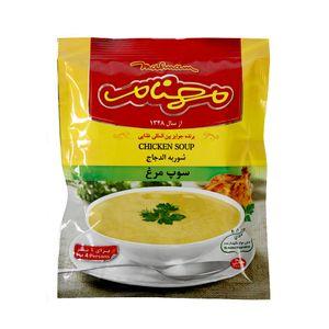 سوپ مرغ 70 گرمی مهنام