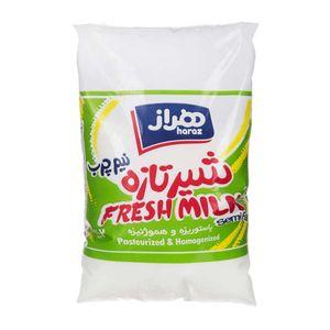 شیر نیم چرب غنی شده با ویتامین 850 میلی لیتری هراز