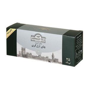 چای تی بگ ارل گری 25 عددی  احمد