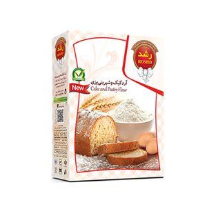 آرد شیرینی پزی 500 گرمی رشد