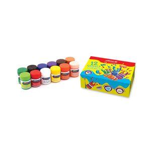 گواش 12 رنگ جعبه ای آریا