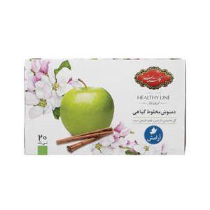 دمنوش گیاهی آرامش سیب و دارچین 20عددی اچ ال گلستان