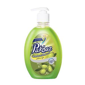 مایع دستشویی سبز 500 گرمی پاکناز