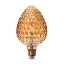 لامپ دکوراتیو 4 وات LEDمدل S95  آفتابی بروکس