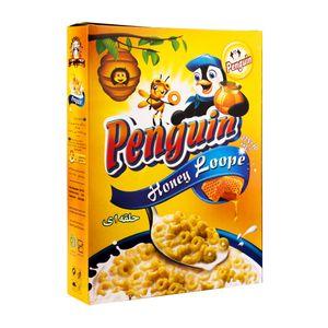 سوپر مارکت اینترنتی صبحانه ی ذرت حلقه ای پنگوین