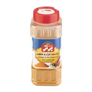 چاشنی مرغ و ماهی 75 گرم نمکپاش برتر