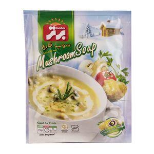 سوپ قارچ نیمه آماده 70 گرمی برتر