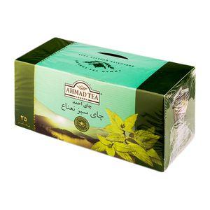 تی بگ سبز نعناع در لفاف آلومینیومی 85 گرمی احمد