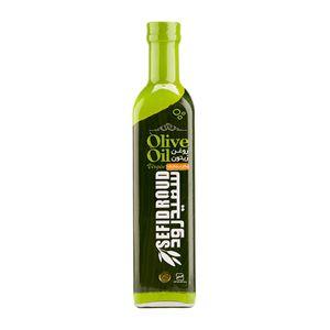 روغن زیتون طبیعی بطری 500سی سی سفیدرود