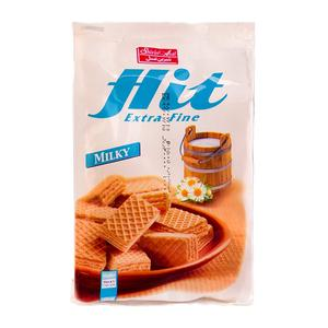ویفر با کرم شیری لقمه ای هیت 150 گرمی شیرین عسل