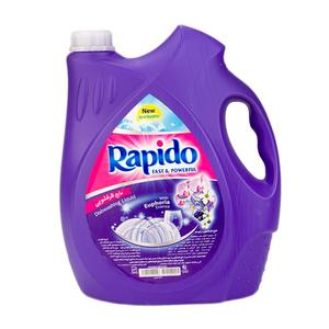 مایع ظرفشویی پت بنفش3750 میلی لیتری راپیدو