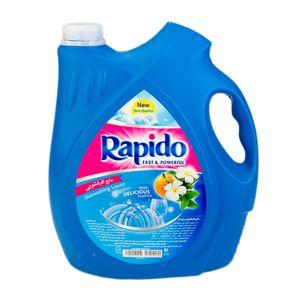 مایع ظرفشویی پت آبی 3750 میلی لیتری راپیدو