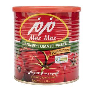 رب گوجه فرنگی 800گرمی مزمز