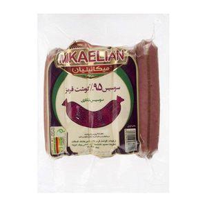 سوسیس شکاری 95% 260 گرمی میکائیلیان