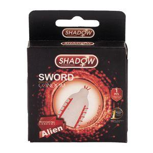 کاندوم فضایی شمشیری بسته 1 عددی شادو