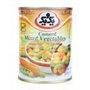 کنسرو مخلوط سبزیجات 370 گرمی یک و  یک