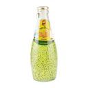 نوشیدنی شیشه ای تخم شربتی با طعم طالبی  300 سی سی