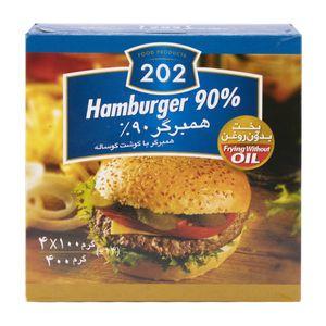همبرگر 90% 400 گرمی 202