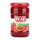 کنسرو رب گوجه شیشه 700 گرمی پیک