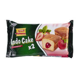 کیک ایندو توت فرنگی 70 گرمی آشنا