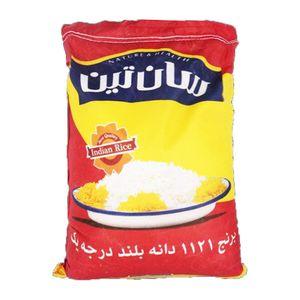 برنج هندی باسماتی 1121 دانه بلند 10کیلوگرمی سانتین