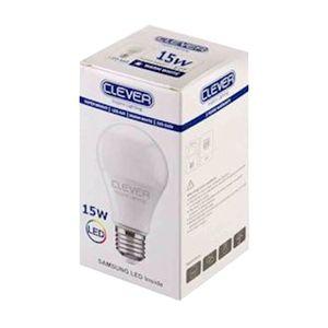 لامپ ال ای دی حبابی مهتابی 15 وات کلور