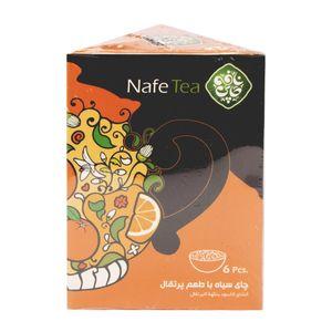 پیاله های پرتقالی ارگانیک چای سیاه50 گرمی نافه