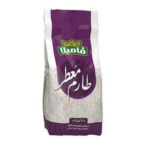 برنج ایرانی طارم معطر خالص 4.500 کیلوگرمی فامیلا