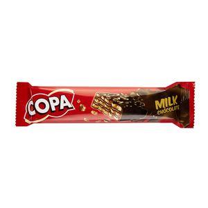 ویفر شکلاتی شیری 32 گرمی کوپا