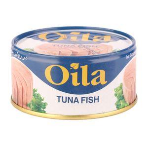 کنسرو ماهی تن در روغن سویا 180 گرمی اویلا
