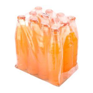 سوپر مارکت اینترنتی نوشابه پرتقالی شیشه ای 12 عددی میراندا