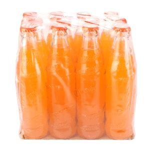 خرید اینترنتی نوشابه پرتقالی شیشه ای 12 عددی میراندا