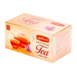 چای زعفرانی کیسه ای 20 عددی مصطفوی
